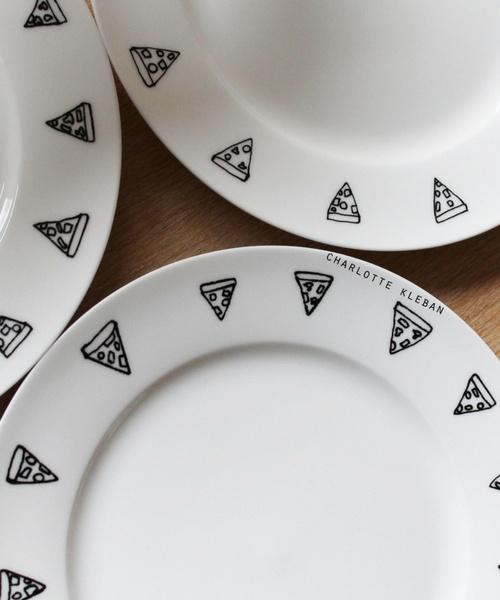 Hand Drawn Homeware Ceramics by Charlotte Kleban