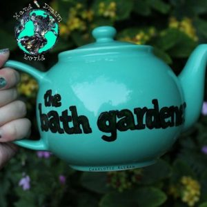 Personalised business design teapot, with business message, business logo from Charlotte Kleban & Hand Drawn World, Hand drawn & hand made